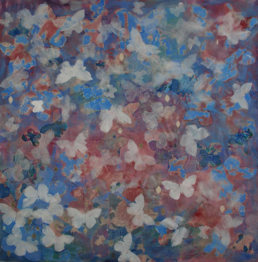 Butterflies Mixed Media - Andiamo 2 by Elizabeth Comay