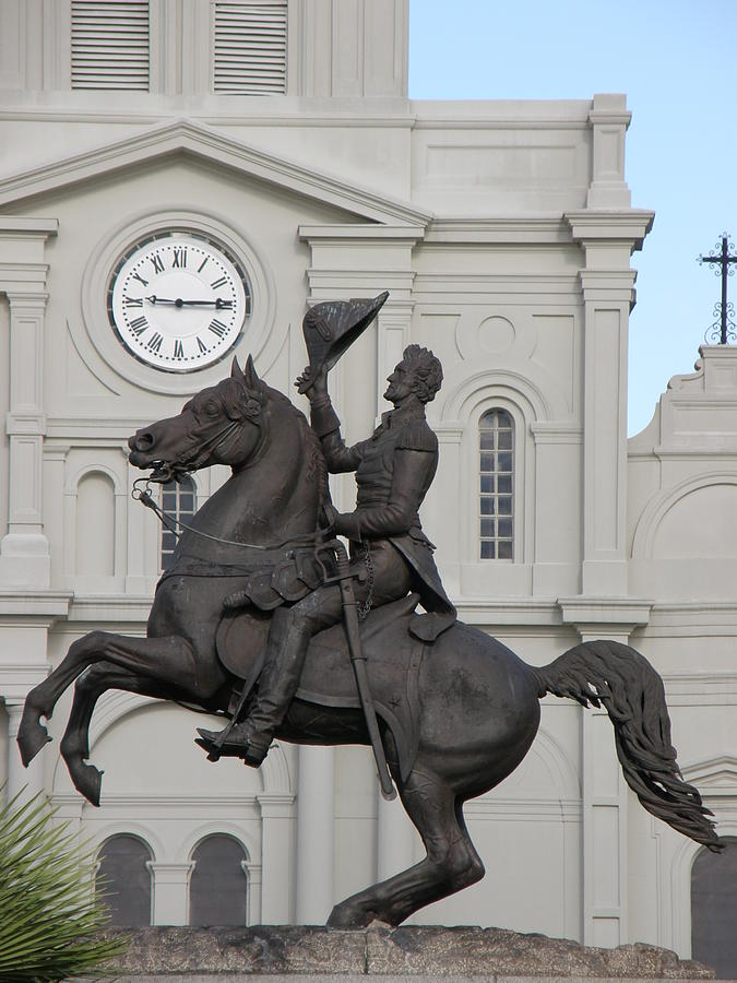 New Orleans Photograph - Andrew Jackson Statue by Jack Herrington