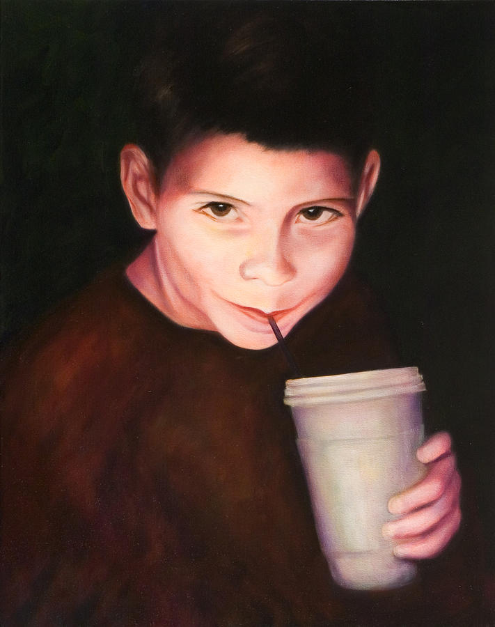 Boy Painting - Andrew by Shannon Grissom
