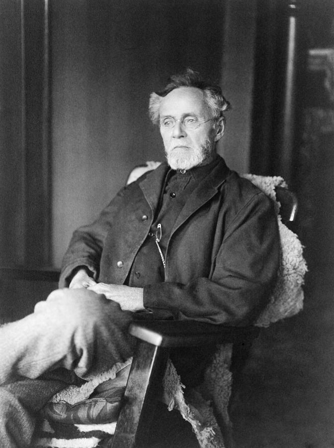 History Photograph - Andrew Still, 1828-1917, Founder by Everett