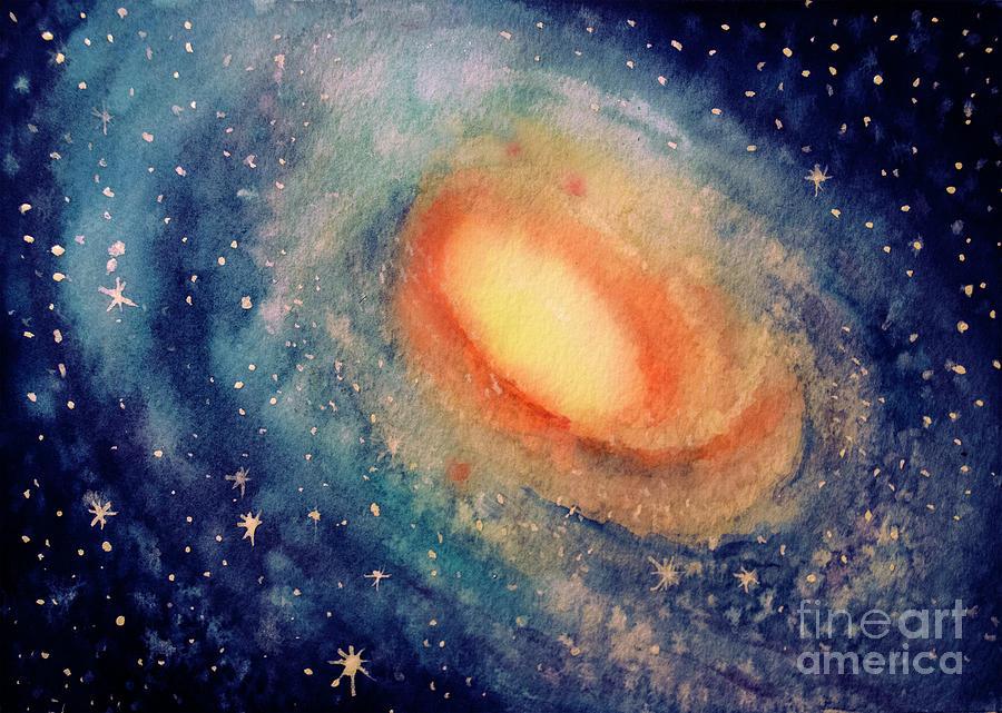 Andromeda Painting