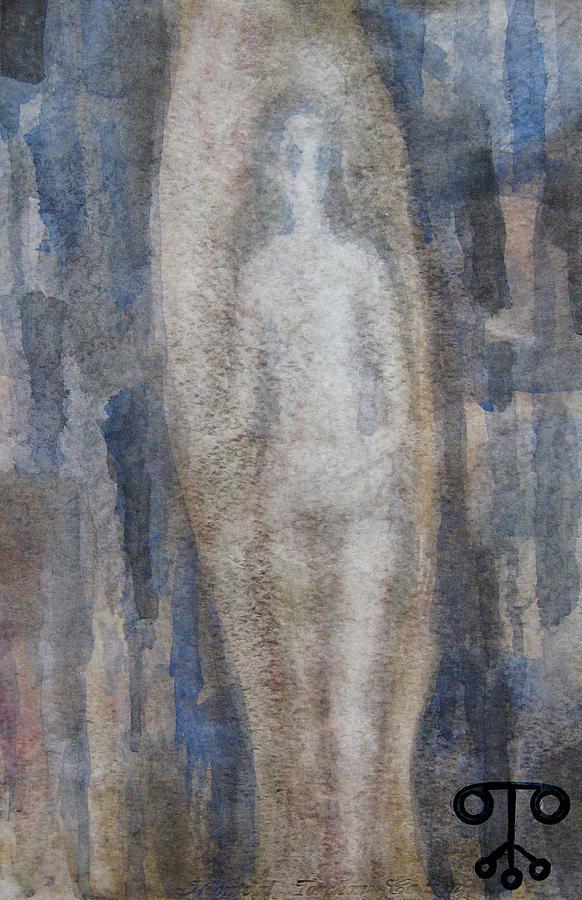 Andromeda Eaten By Fish Painting by Milush Mitushev