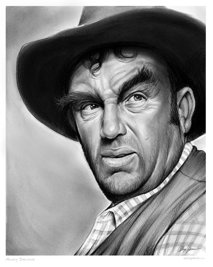 Andy Devine Drawing