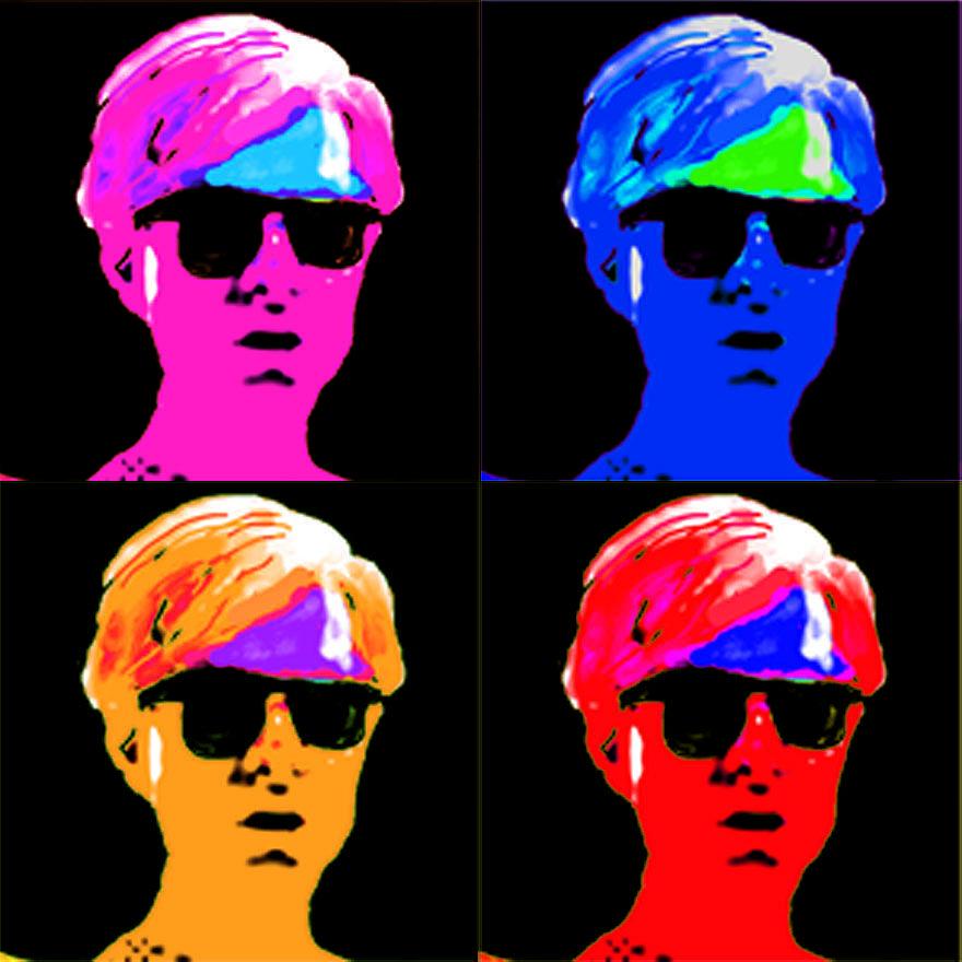 Andy Is Art Digital Art by Paul Knotter
