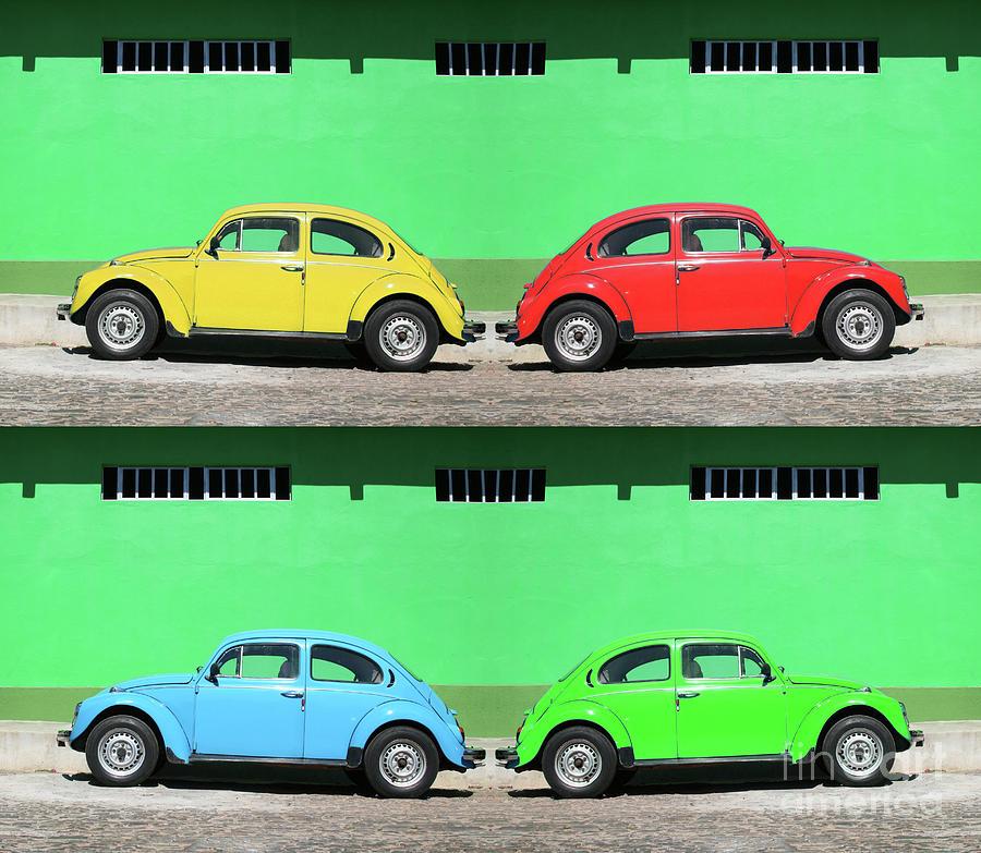 Andy Warhol Photograph - Andy On A Beetle II / Andy De Fusca II by Tiago Da Arcela