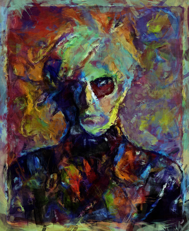 Andy Warhol Mixed Media - Andy by Russell Pierce