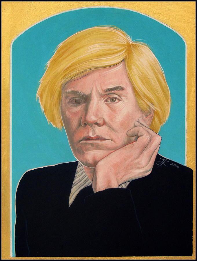 Andy Warhol Painting - Andy Warhol by Jovana Kolic