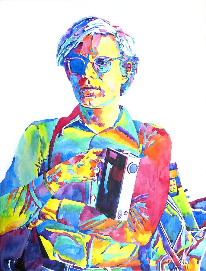 Andy Warhol - Media Man Painting