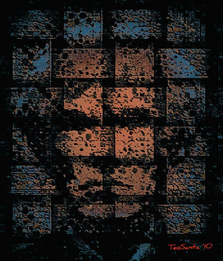 Andy Warhol Mixed Media - Andy Warhol Weave   Series   by Teodoro De La Santa