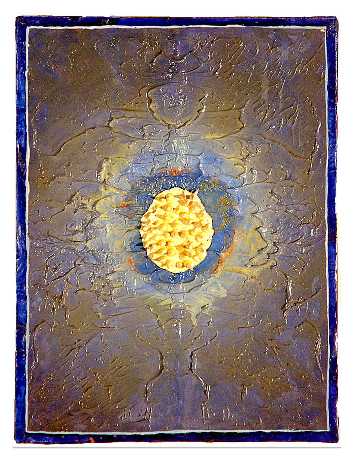 Abstract Painting - Anemone by Howard Goldberg