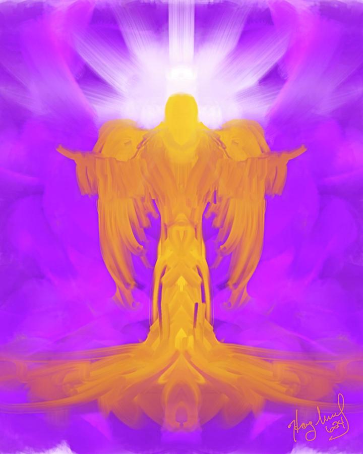 Angel # 624 by Mark Haglund