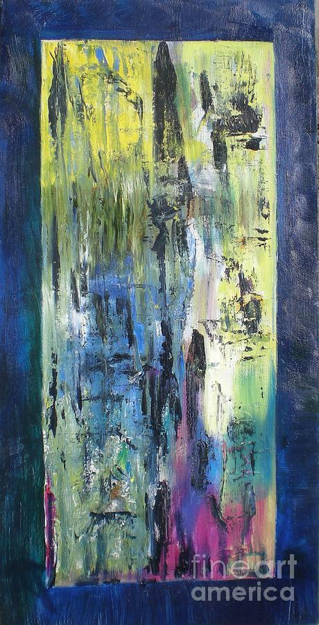 Abstract Painting - Angel 1 by Hal Newhouser