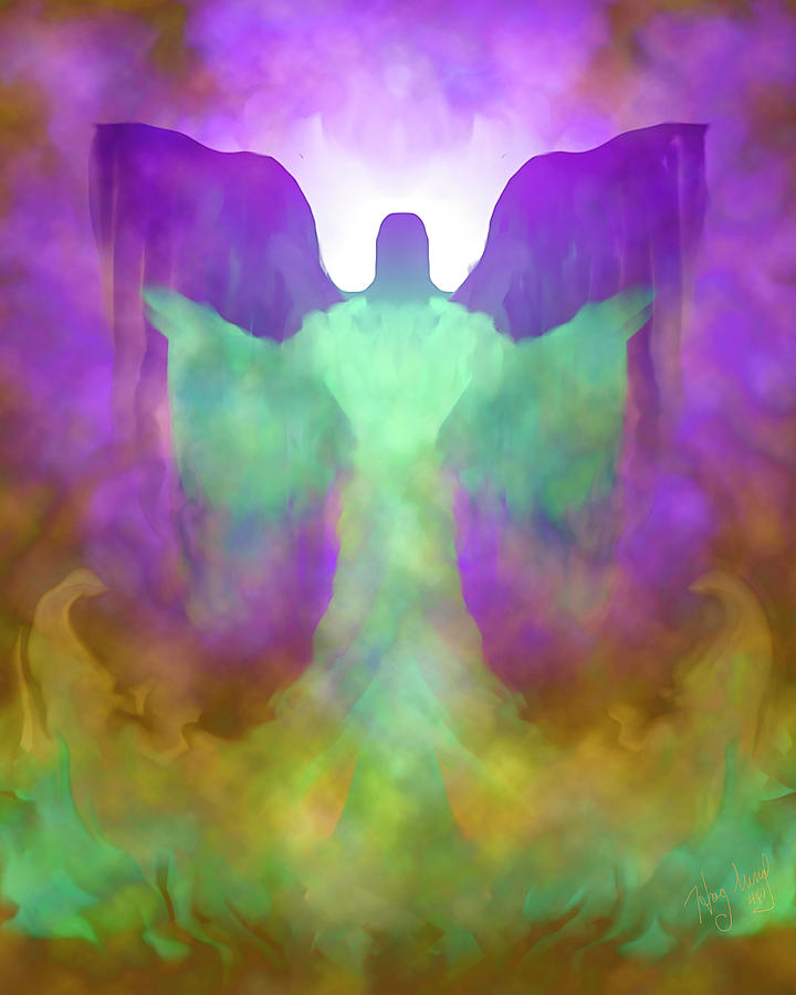 Angel 447 by Mark Haglund