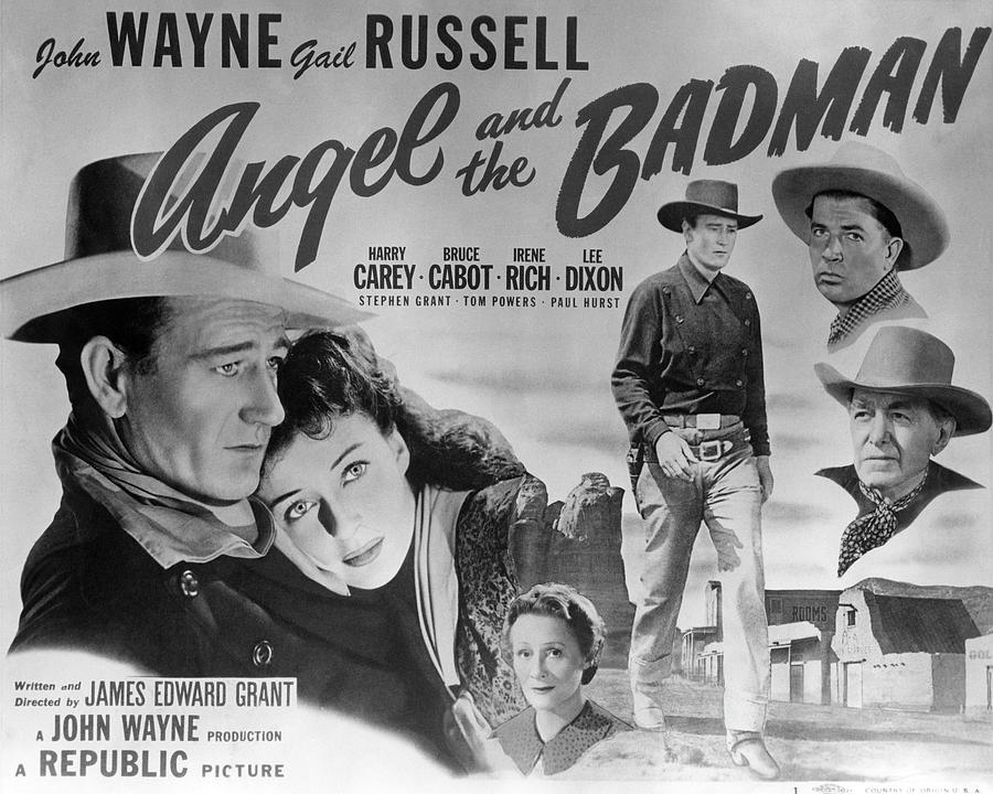 Arizona Photograph - Angel And The Badman Poster by Bob Bradshaw