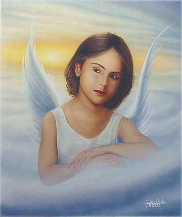 Angel Painting - Angel by Angel Ortiz