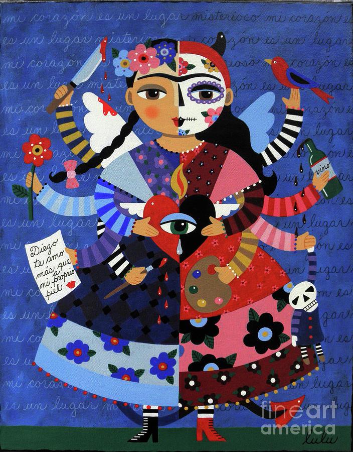 Angel Devil 10 Arm Frida Kahlo By LuLu Mypinkturtle