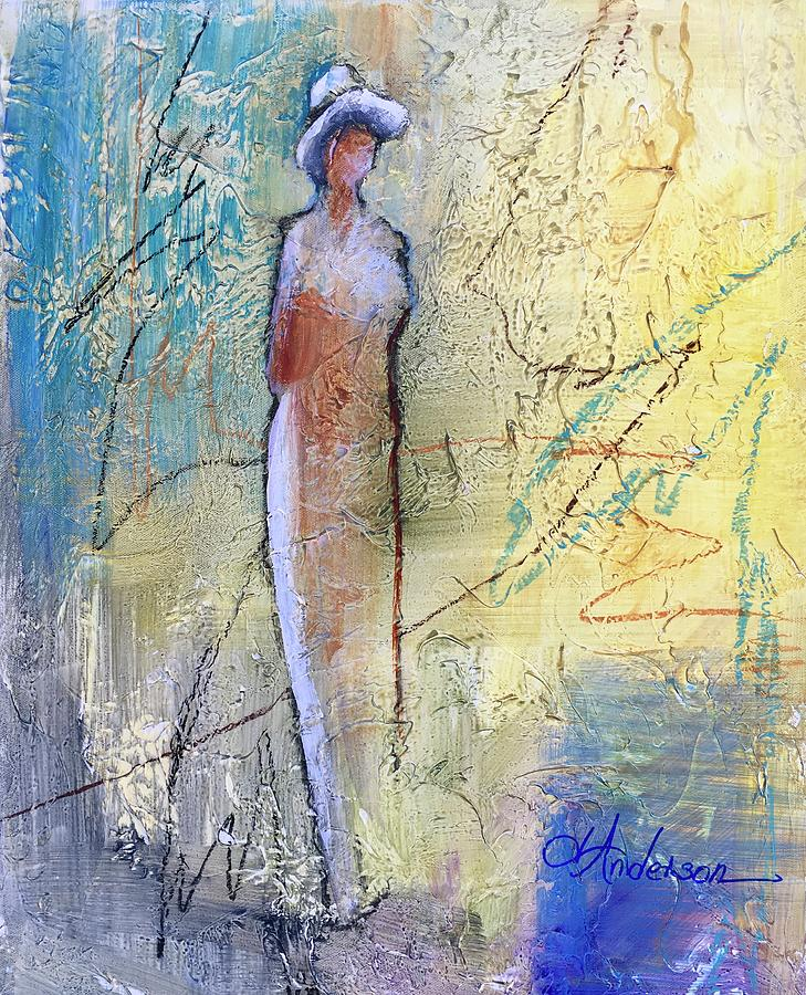 Angel Dust  Painting by Joan Anderson