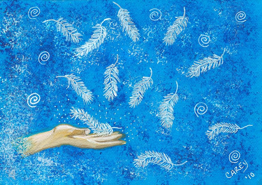 Angel Feathers by Carey Waters