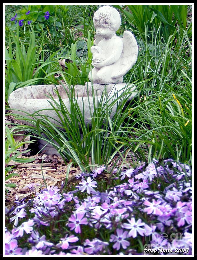 Angel Photograph - Angel Garden by Emily Kelley