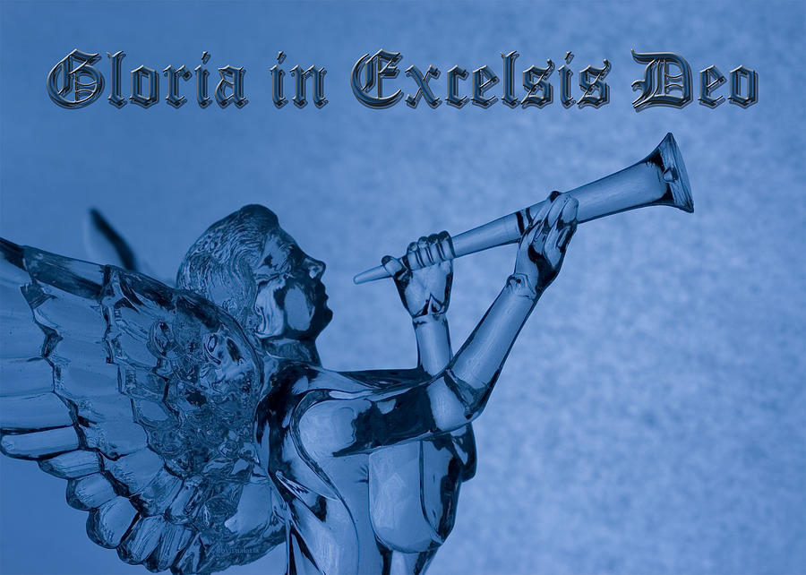 Angel Gloria in Excelsis Deo Photograph by Denise Beverly