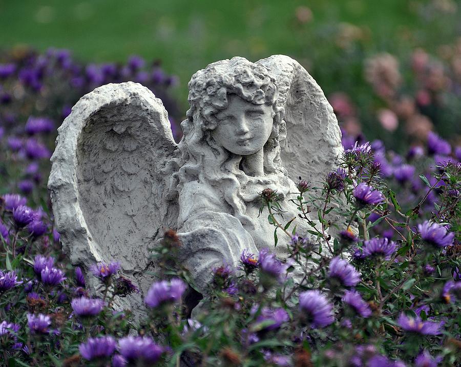 Angel Photograph - Angel by Gwen Allen