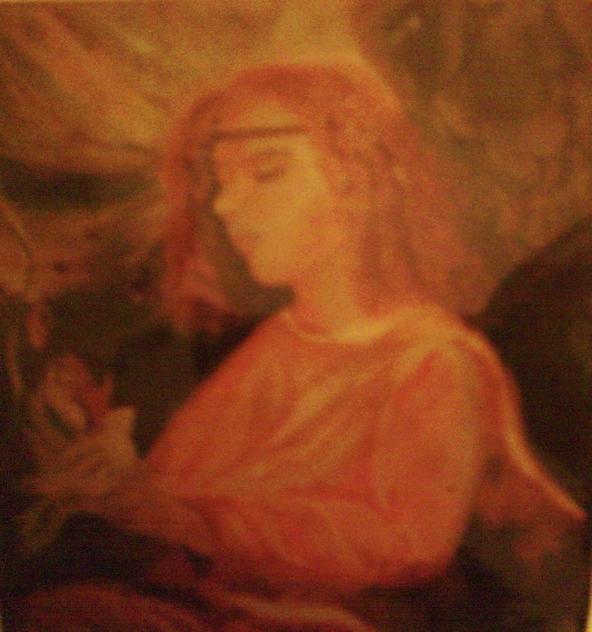 Spiritual Angel Painting - Angel by Helen Vanterpool