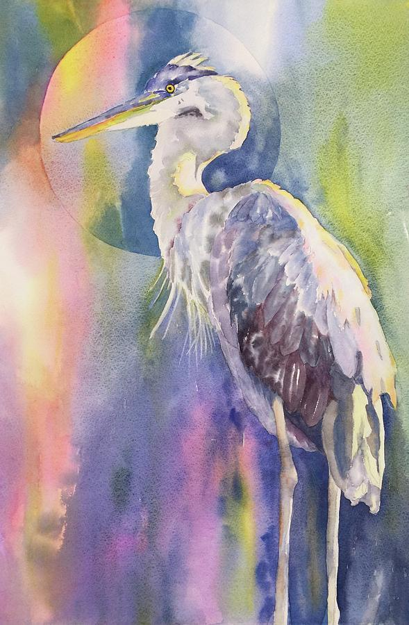 Angel Heron by Tara Moorman
