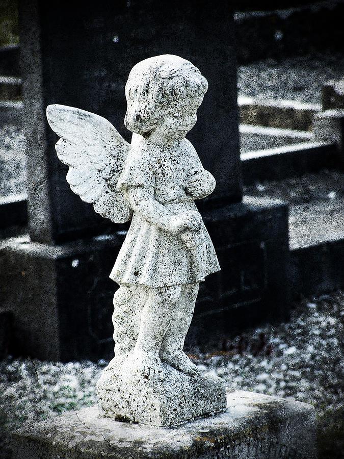Ireland Photograph - Angel In Roscommon No 3 by Teresa Mucha