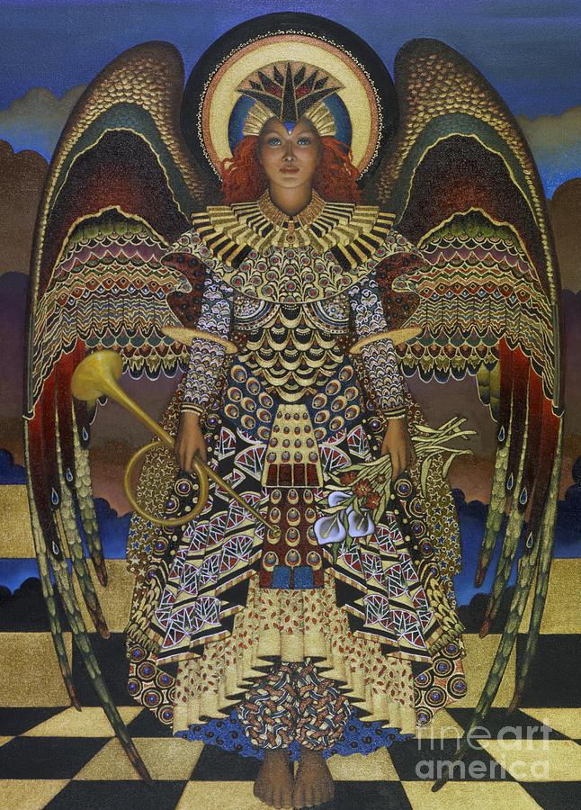 Angel Painting - Angel by Jane Whiting Chrzanoska