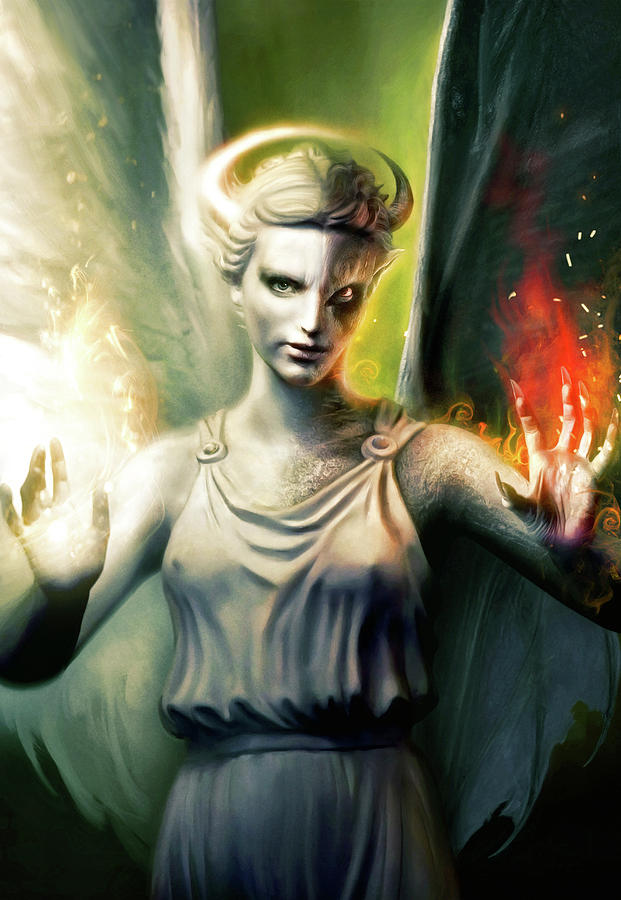 Angels Painting - Angel by Joe Roberts