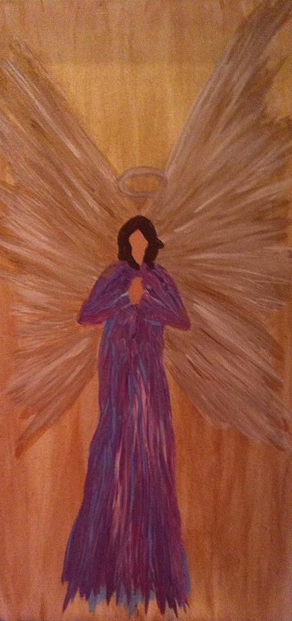 Angel Painting - Angel by Lisa Collinsworth