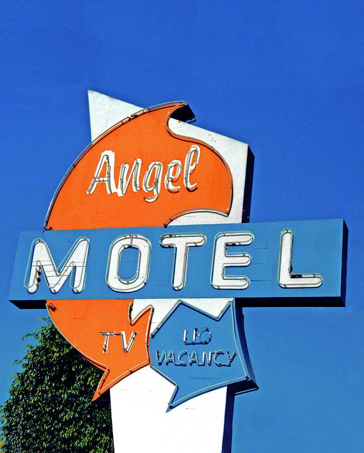 Angel Photograph - Angel Motel by Matthew Bamberg