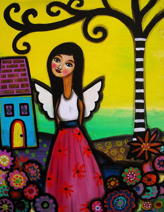 Nilda Painting - Angel Nilda by Pristine Cartera Turkus