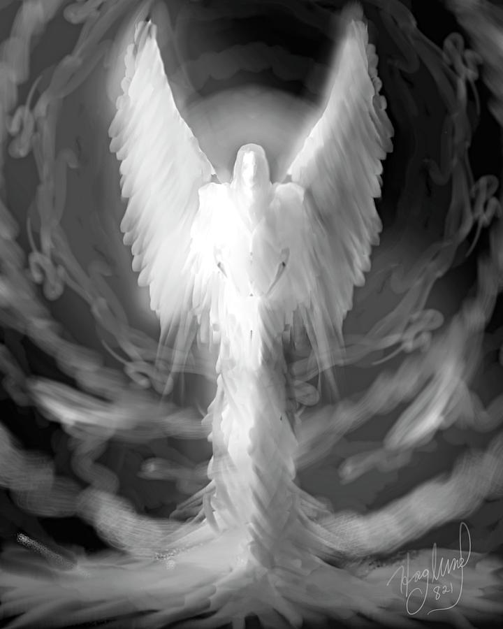 Angel No.821 by Mark Haglund