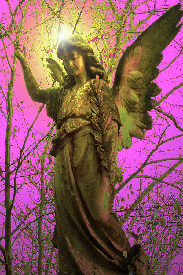 Andel Mixed Media - Angel Of Bless No. 02 by Ramon Labusch