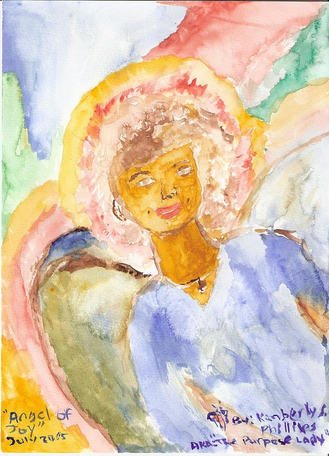 Angel Painting - Angel Of Joy by Kimberly Ware