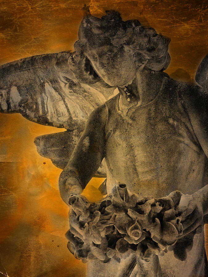 Marble Photograph - Angel Of Mercy by Larry Marshall