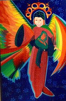 Angel Of Peace Painting by Jamie Winter
