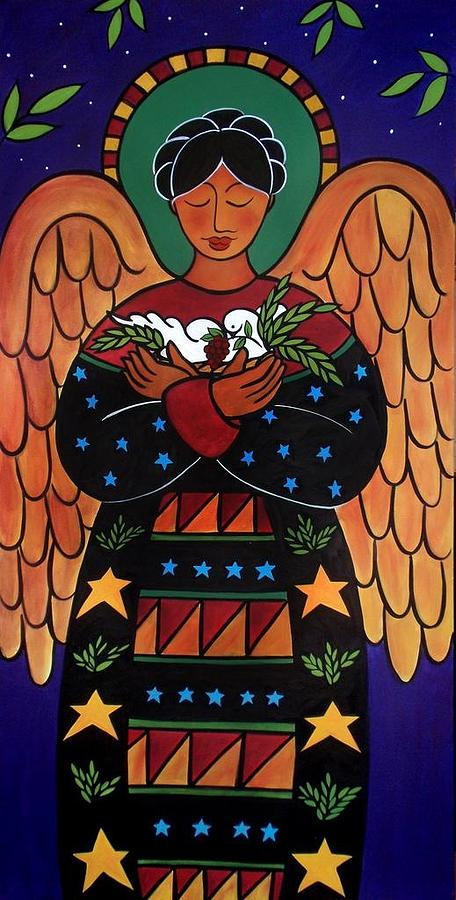 Angel of peace by Jan Oliver-Schultz