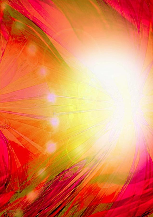 Angels Digital Art - Angel Of Transformation by Mairin Gilmartin
