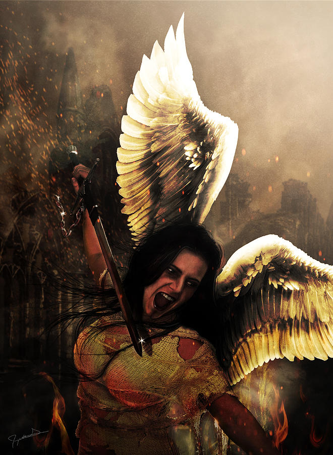 Angel Of Vengeance Photograph