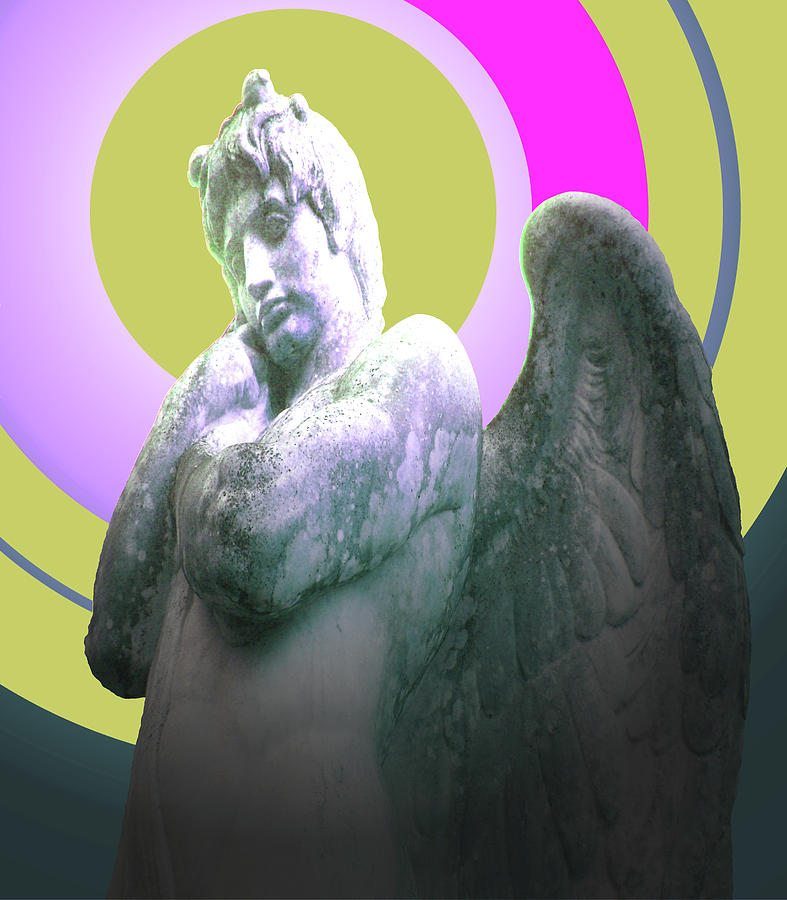 Ange Mixed Media - Angel Of Youth No. 03 by Ramon Labusch