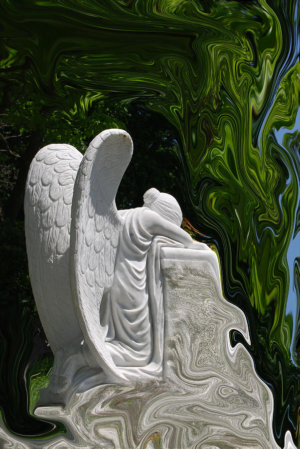 Angel Photograph - Angel by Patricia Motley