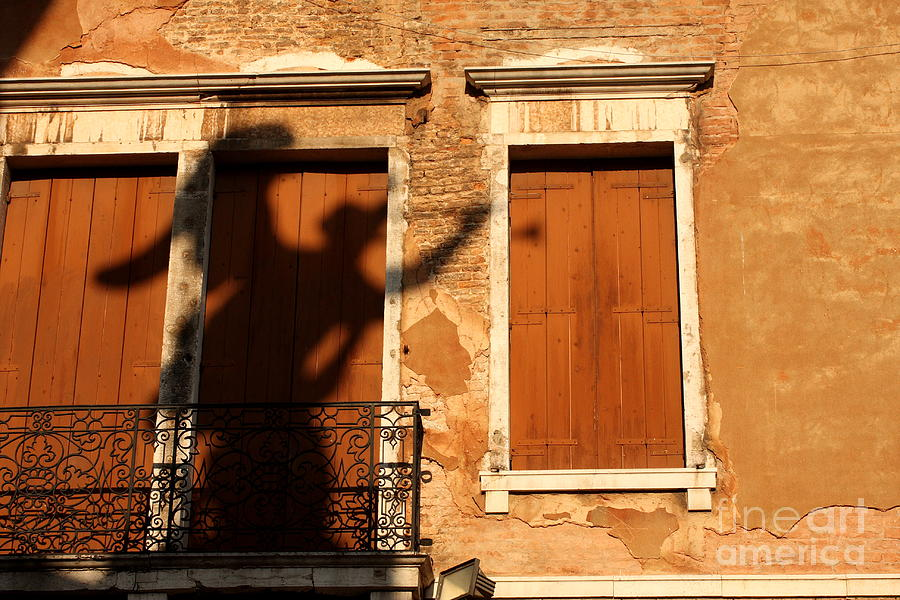 Venice Photograph - Angel Shadow in Venice by Michael Henderson