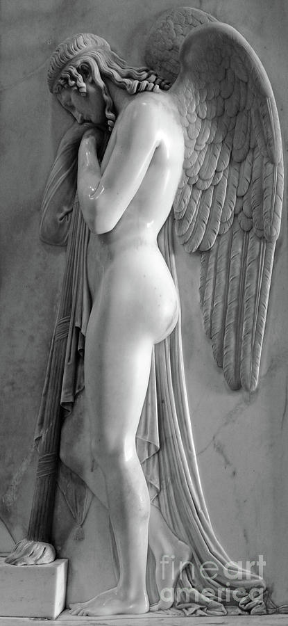 Angel Statue in St.Peters Basilica by Gregory Dyer