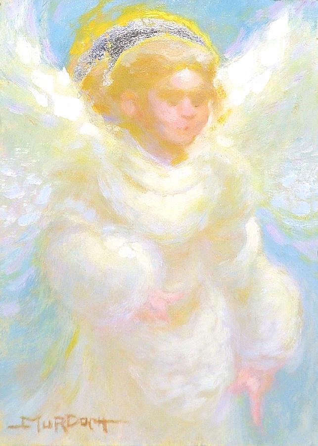 Angel Painting - Angel Transmitting Light by John Murdoch