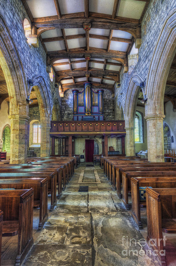 Chapel Photograph - Angel Voices For  Ever Singing by Ian Mitchell