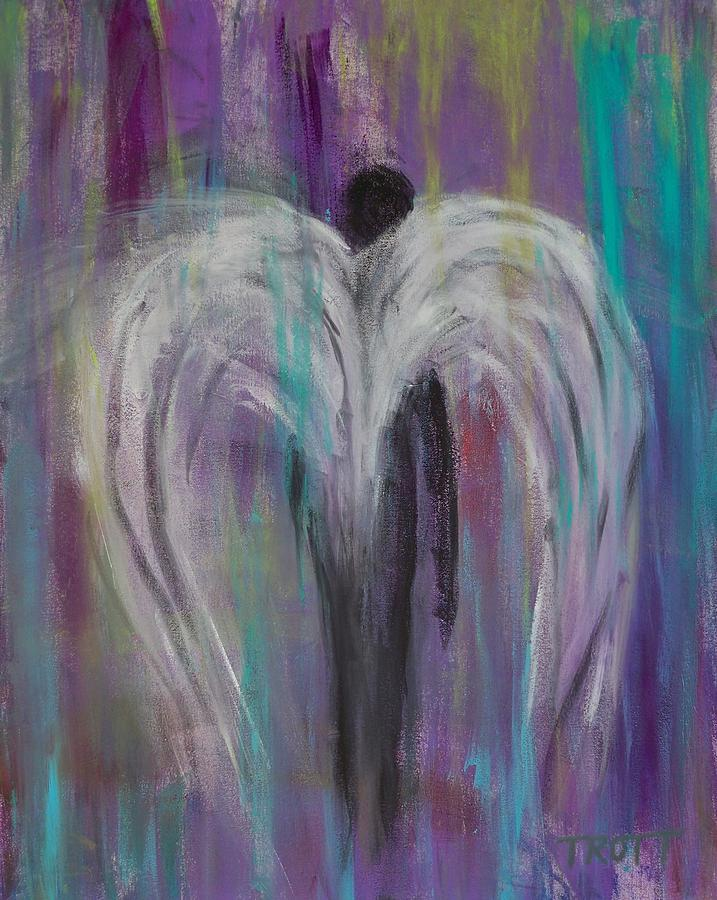 Angel Wings Painting By Anthony Trott