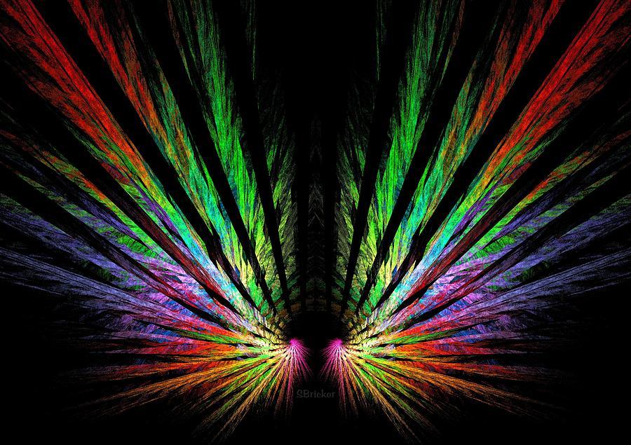 Angel Wings Digital Art By Scott Bricker