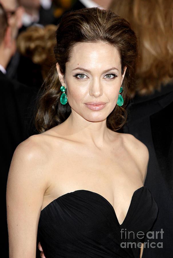 Angelina Jolie Photograph - Angelina Jolie by Nina Prommer